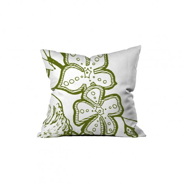 Yeşil Çiçek Motifleri 1
