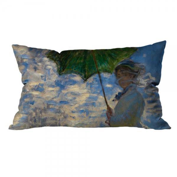 Claude Monet - Güneş Şemsiyeli Kadın 2