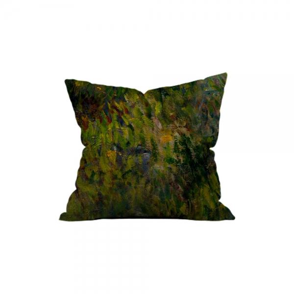 Claude Monet - Güneş Şemsiyeli Kadın 3