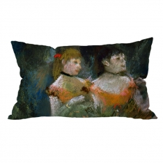 Edgar Degas-Yeşil Balerin 3