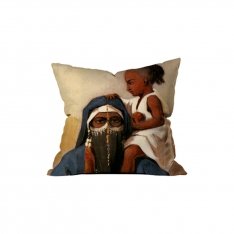Egyption Fellahah With Her Child 1