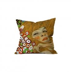 Gustav Klimt-Su Yılanları II-1