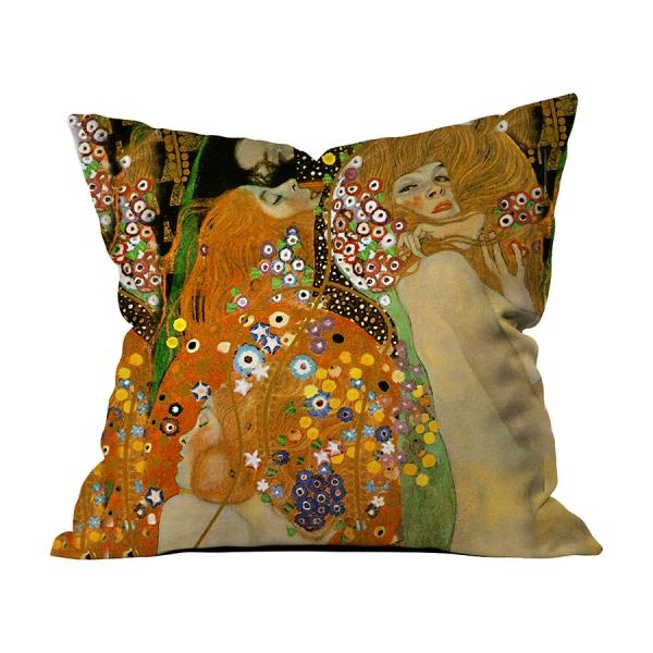 Gustav Klimt-Su Yılanları II-5
