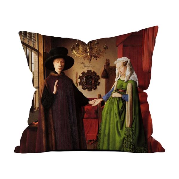 Jan Van Eyck - Arnolfini'nin Düğünü 6