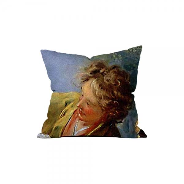 Jean Honere Fragonard-Kör Adamın Blöf Oyunu 3