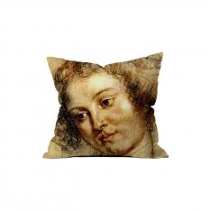 Peter Paul Rubens - Kadın ve El Çizimi 1