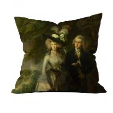 Thomas Gainsborough-Bay-Bayan William Hallet (Sabah yürüyüşü) 4