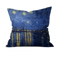 Vincent Van Gogh - Rhone Üzerinde Yazılı Yıldızlı Gece 2