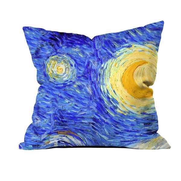 Vincent Van Gogh - Yıldızlı Gece 3