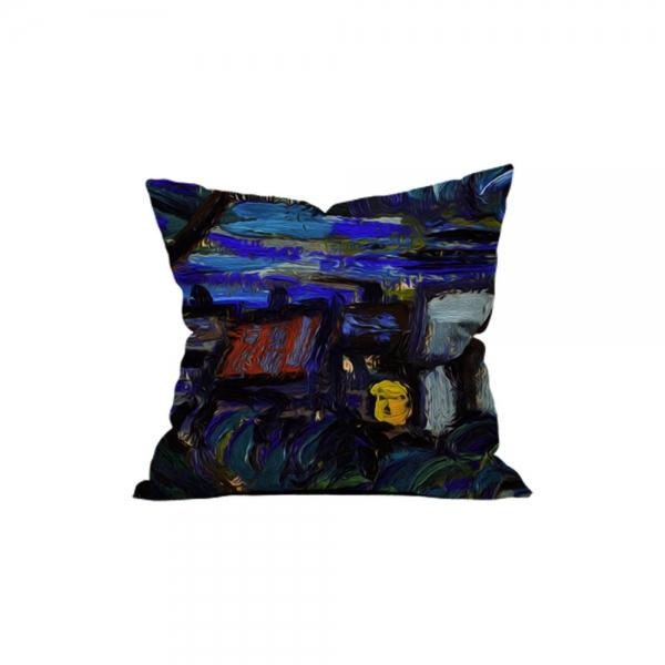 Vincent Van Gogh - Yıldızlı Gece 4
