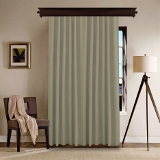 Beige Panel Curtain