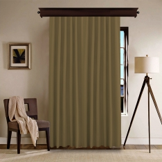 Dark Mustard Curtain
