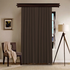 Dark Brown Curtain