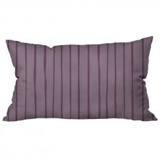 Scattered Lines Lavender Cushion 2