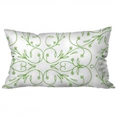 Thin Wrought Iron-Thick Border Green Cushion 2