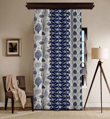 3 Figure Natural Miracle Composition Blackout Curtain