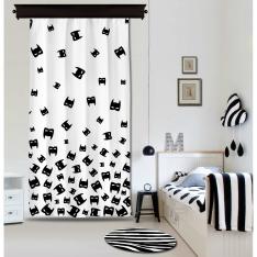 Bat Masquerade Panel Curtain By İmren Gürsoy