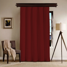 Claret Red Blackout Curtain