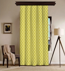 Magical Yellow Blackout Curtain