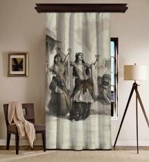 Dancing Ladies Blackout Curtain