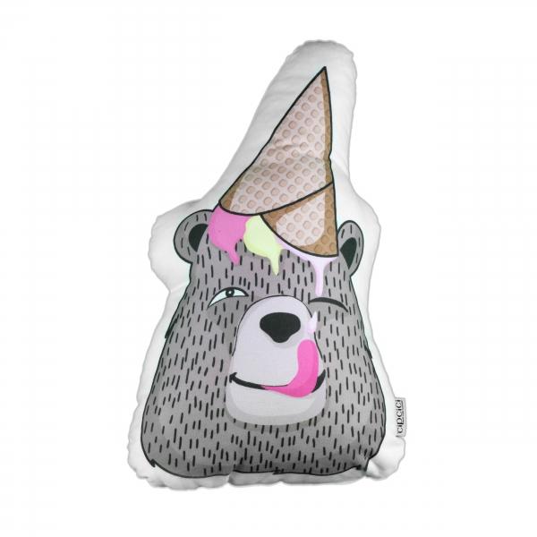 Dondurmacı Ayıcık Biblo Yastık By İmren Gürsoy