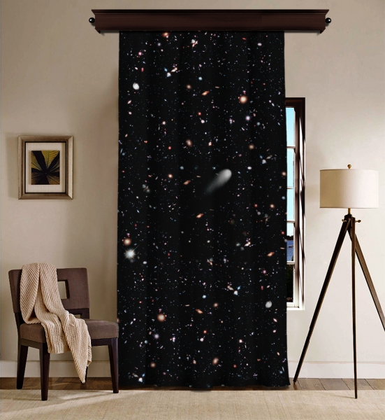 'Evren'in Galaksileri'' Uzay BlackOut Perde
