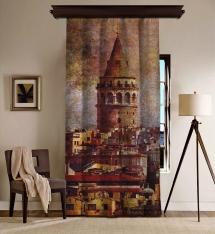 Galata Kulesi BlackOut Perde