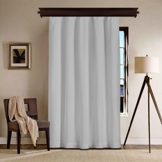 Grey Blackout Curtain