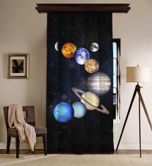 Güneş Sistemi Uzay BlackOut Perde