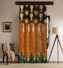 Gustav Klimt - Beethoven Friz (Detay) BlackOut Perde