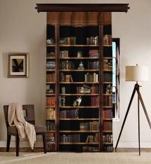 Bookshelf Blackout Curtain