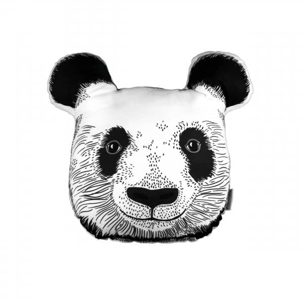 Panda Face Biblo Yastık By İmren Gürsoy