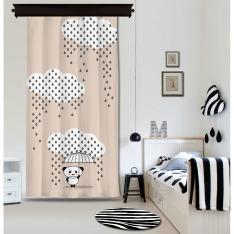 Downpour Panda Powder Curtain By İmren Gürsoy