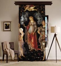 Sandro Botticelli - İlkbahar Panel BlackOut Perde