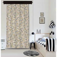 Soft Figured Powder Curtain By İmren Gürsoy
