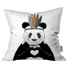 Tüylü Panda Kırlent By İmren Gürsoy