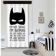 Bat Children Panel Curtain By İmren Gürsoy