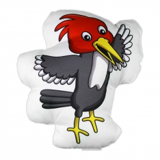 Woodpecker Trinket Pillow - Forest Family