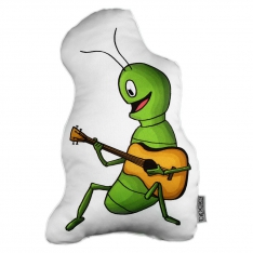 August Beetle Trinket Pillow - La Fontaine Family