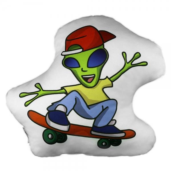 Alien Biblo Yastık - Uzaylı Kankalar