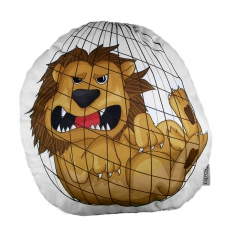 Lion Trinket Pillow - La Fontaine Family