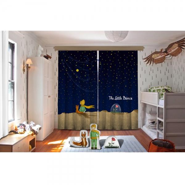 Cipcici Tiyatrosu Küçük Prens Gece Fon Perde + Biblo Yastıklar Set