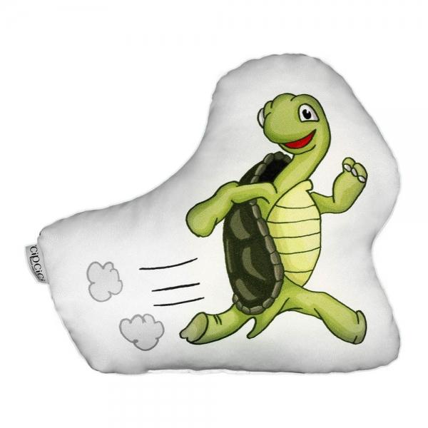 Kaplumbağa Biblo Yastık - La Fontaine Ailesi