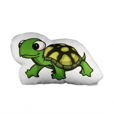 Turtle Trinket Pillow - Forest Family