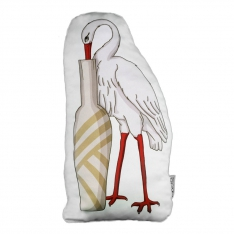 Stork Biblo Pillow - La Fontaine Family
