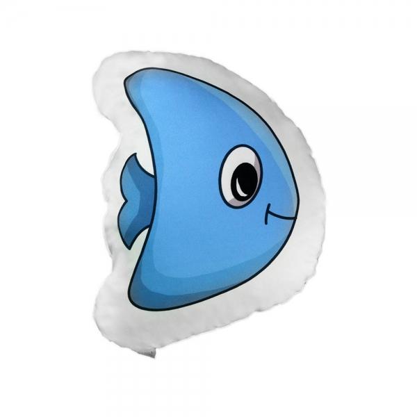 Mavi Balık Biblo Yastık - Denizaltı Orkestrası