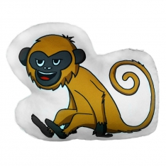 Monkey 2 Trinket Pillow - Tropical Buddies