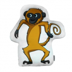 Monkey Trinket Pillow - Tropical Buddies