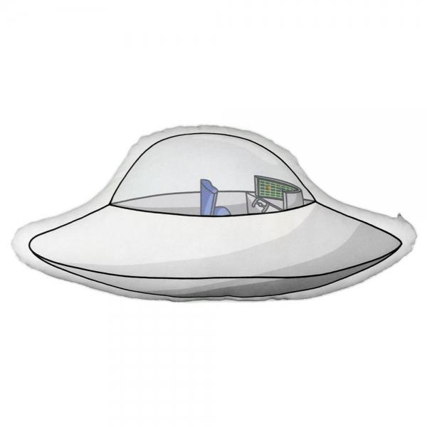 Ufo Biblo Yastık - Uzaylı Kankalar