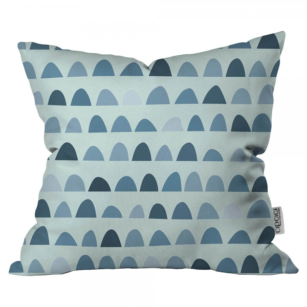 Soft Desenli Mavi Kırlent By İmren Gürsoy